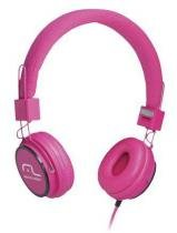 Headphone Head Fun com Microfone P2 3,5mm Hi-Fi Rosa Multila - Multilaser