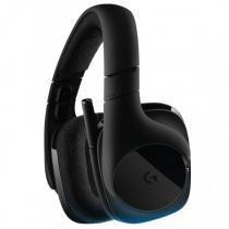 Headphone Logitech Gaming G533 Wirelles Dts Dolby Digital Surround 7.1 - 981-000633 -