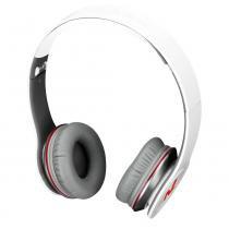 Headphone Newlink Extreme Branco Dobrável Plugue 3,5mm - Newlink