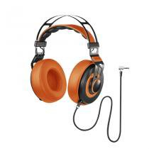 Headphone Pulse PH239 Premium Wired Large Laranja - Multilaser