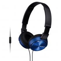 Headphone Sony MDR-ZX310AP - Azul - Melodia