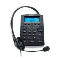 Headset ELGIN HST-8000 com Identificador de Chamadas Saída para Gravação -