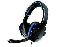 Headset Gamer AR-S501 Preto com azul c/ microfone K-MEX -