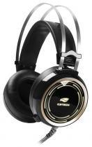 Headset Gamer C3Tech Black Kite - LED RGB - com Controle de Volume - USB - PH-G310BK - C3 tech
