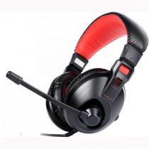 Headset gamer conqueror i preto/vermelho e-blue - E-blue