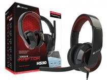 Headset gamer corsair ca-9011121-eu-y raptor hs30 2.0 canais preto - Corsair