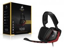 Headset gamer corsair ca-9011144-na void dolby 7.1 red -