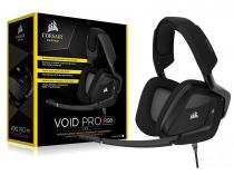 Headset Gamer Corsair CA-9011154-NA Void PRO USB Carbon -