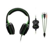 Headset Gamer Dual Shock Led Verde Multilaser - PH180 -