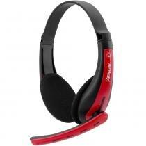 Headset Gamer Fortrek Spider Venom SHS701 Preto e Vermelho -