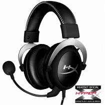 Headset gamer hyperx cloudx - hx-hscx-sr/la Kingston