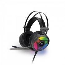 Headset Gamer RGB H1 PRO Cinza FORTREK -