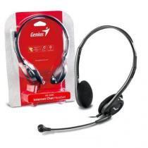 Headset Genius HS-200C Slim Preto 31710151100 - Genius
