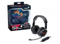 Headset GX Gaming Genius HS-G500V Gamer com Funcao Vibracao USB - 31710020101 -