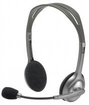 Headset Logitech C/Microfone H111 Preto P2 único -