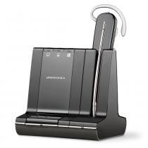 Headset sem Fio Savi Wireless W740, 3 em 1, DECT, 100 m, Bluetooth, USB - Plantronics -