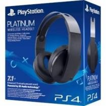 Headset Sony Platinum 7.1 Wireless - Ps4 E Ps4 Vr -