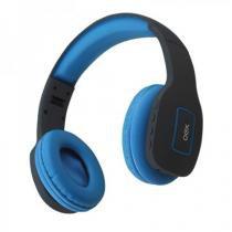 Headset Vibe Azul Bluetooth Dobrável HS305 - OEX - Newex
