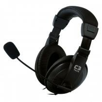 Headset voicer confort mi-2260 preto c3 tech - C3 tech