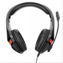 Headset Warrior Gamer P2 Preto PH101 Multilaser -