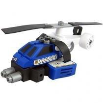 Helicóptero Policial  - Garagem SA - Pequeno Engenheiro Candide