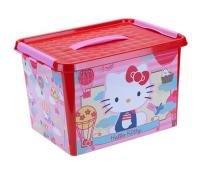 Hello Kitty Caixa com Alça Decorada 22L - Monte Líbano - Hello Kitty
