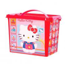 Hello Kitty Caixa com Alça Decorada 9L - Monte Líbano - Hello Kitty