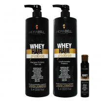 Hidrabell kit whey hair protein -