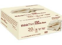 High Protein Bar - Think Thin - 5 barras - White Chocolate -