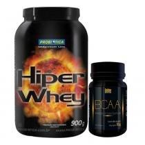 Hiper Whey 900G Probiótica Chocolate + Bcaa Golden - Probiótica