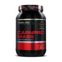 Hipercalórico carnpro mass 1,5kg morango - probiótica pro - Probiótica