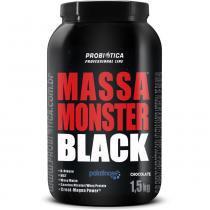 Hipercalórico massa monster black 1,5kg chocolate - probiótica - Probiótica