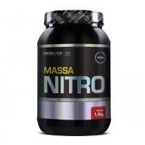 Hipercalórico massa nitro 1,4kg morango - probiótica -