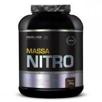Hipercalórico MASSA NITRO NO2 - Probiótica - 3kg - Morango - Probiótica