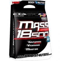 Hipercalórico Refil Mass 18500 Anticatabolic 3kg - Morango-Banana - Body Nutry