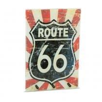 Holder Route 66 Vintage Vermelho - AZ Design