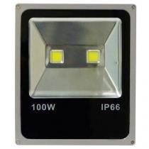 Holofote refletor super led 100w branco bco frio - Importado