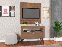 Home Com Bancada E Painel Canadá Montana - ATMCJ021 MT - Art In Móveis - Artin móveis