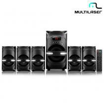 Home Theater 5.1 170W Rms USB,SD,FM,AUX BIV SP169 - Multilaser - Multilaser