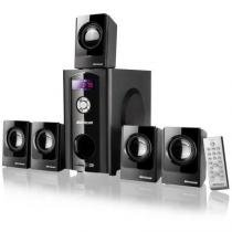 Home Theater 5.1 80W Black Wave Sp110 Multilaser -