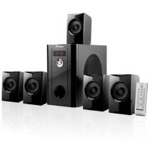 Home Theater 5.1 Black Wave 110W Rms Sp070 Multilaser -