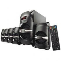 Home Theater Multilaser SP169 c/ Blu-ray c/DVD - 170W RMS 5.1 Canais Conexão HDMI USB