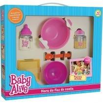 Hora do Faz de Conta Baby Alive Papinha 986 Elka -