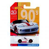 Hot Wheels 50 anos Dodge Viper - Mattel -