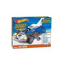 Hot Wheels Blocos Carrinho Radical SKY Viper FUN 8110-1 -