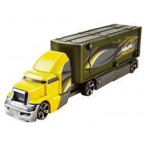 Hot Wheels - Caminhão Batida com Veícullo Amarelo e Verde - Mattel - Mattel