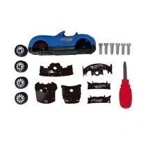 Hot wheels carro tunado - monte e desmonte seu carro fun 7972-1 - Fun