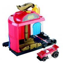 Hot Wheels City Conjunto Básico Estação de Bombeiro - Mattel -