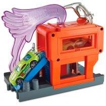 Hot Wheels Conjunto Básico Posto de Gasolina - Mattel -