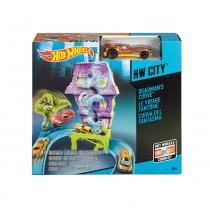 Hot Wheels Desafios na Cidade Estrada Assombrada - Mattel - Hot Wheels